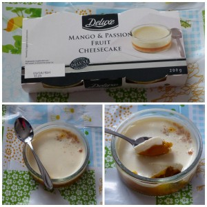 Lidl Deluxe Mango & Passion Fruit Cheesecake
