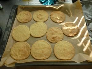 De gebakken koeken