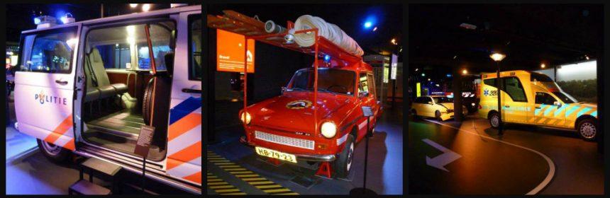 PIT Museum Almere sirenes zwaailichten politie brandweer ambulance geschiedenis heden voertuigen interactief dagje uit kinderen gezin recensie review