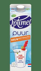 Optimel Puur Rode vruchten drink