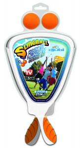 Djubi slingball katapult balspel schietspel
