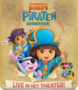 Dora Live Dora's Piratenavontuur van Hoorne Junior