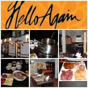 Hello Again fondure restaurant leusden onbeperkt eten