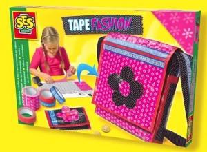 SES Tape Fashion Tas maken met ductape knutselen