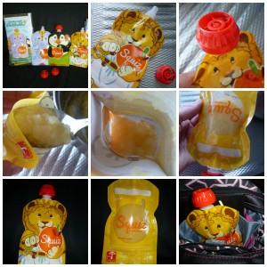 Squiz knijpzakje fruitmoes groentemoes groentehapje fruithapje baby peuter maaltijd herbruikbaar navulbaar
