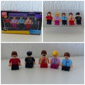 Block Tech characters pack bouwstenen figs poppetjes Lego