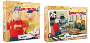 buurman en buurman puzzel en memo spel just2play