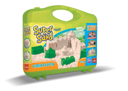 Super Sand Creativity Suitcase Goliath Games kinetisch zand