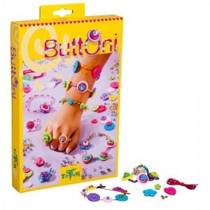 Buttoni Totum TM Essentials sieraden maken kralen knopen kinderen knutselpakket