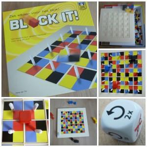 Block It! bordspel dobbelen strategie geluk kleuren  the game master