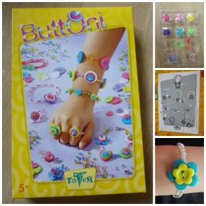 Buttoni TM Essentials Totum knutselset sieraden maken knopen kralen