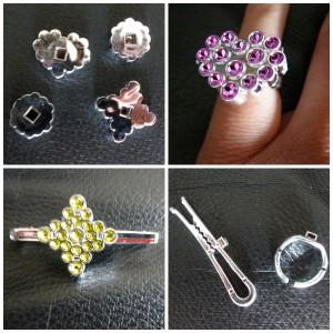 Diam Studio Londen London Megableu sieradenset maken sieraden knutselen