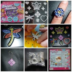 Diam Studio London Megableu sieraden maken sieradenset knutselen knutselpakket