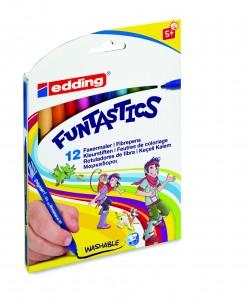 Edding Funtastics dunne viltstiften stiften kleuren