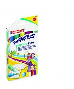 Edding funtastics Textile fun textielstiften kinderen
