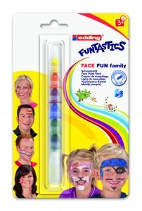Edding Funtastics Face Fun Family
