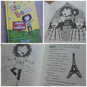 Isa Bella Chaos op de camping Poppy Harper Kluitman graphic- novel