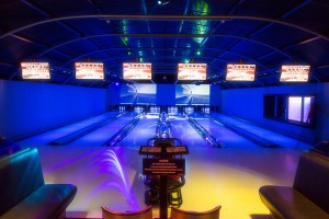 Partycentrum Silverstone LED bowlingbanen bowlen