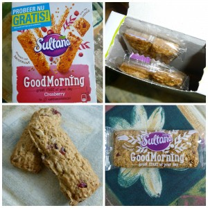 Sultana GoodMorning gratis proberen geld terug actie ontbijt lunch tussendoortje