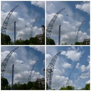 Walibi Holland Skydiver Sky dive #hardgaan
