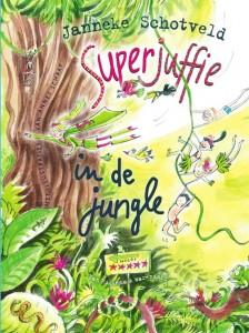 Superjuffie in de jungle janneke schotveld van holkema & warendorf juf josje