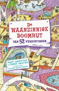 de waanzinnige boomhut van 52 verdiepingen andy griffiths terry denton uitgeverij lannoo graphic novel leesboek jeugd