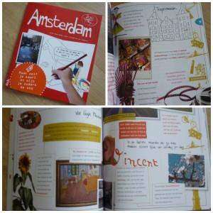 DrawYourMap Amsterdam reisgids kinderen stedentrip doeboek plattegrond