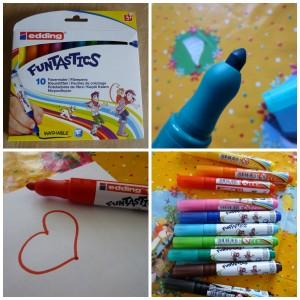 Edding Funtastics Dikke viltstfiten kleurstiften stiften met dikke punt