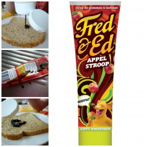 Fred & Ed appelstroop tube broodbeleg