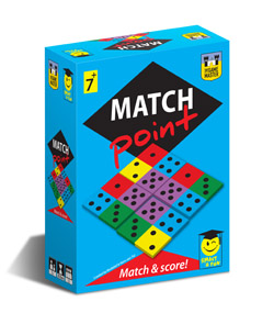 MatchPoint The Game Master spel domino spelletje rekenen