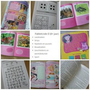Mama boekenclub pakket D 8 - 14 jarigen