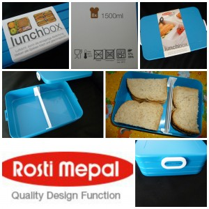 Rosti Mepal Lunchbox Take A break large aqua broodtrommel