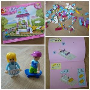 Sluban IJssalon Girl's Dream Lego Friends Banbao bouwstenen past op andere merken