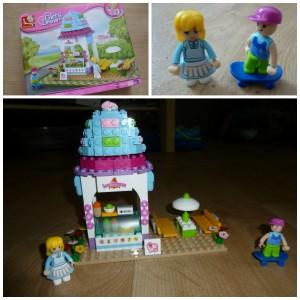 Sluban Girl's Dream IJssalon Lego Friends bouwstenen Banbao past op andere merken