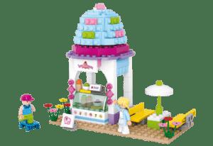 Sluban IJssalon Girl's Dream M38-B0525 bouwstenen lego friends banbao past op andere merken