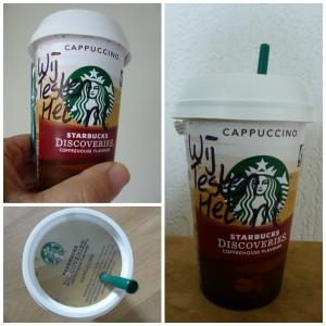 Starbucks Discoveries Cappuccino #chillmoment