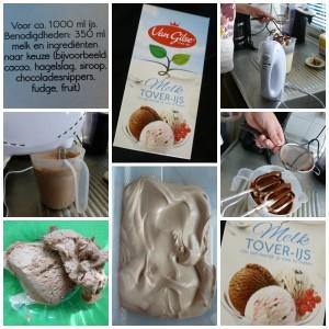 van gilse tover-ijs zelf ijs maken zonder ijsmachine chocolade-ijs