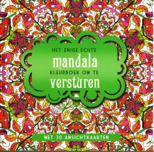 Het enige echte mandala kleurboek om te versturen kleuren voor volwassenen