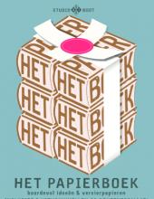 Het papierboek Studio Boot Uitgeverij Snor knutselen papier
