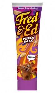 Pindakaas Fred & Ed tube broodbeleg