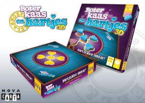 boter, Kaas en hartjes 3D Nova Carta recensie spel boter kaas en eieren