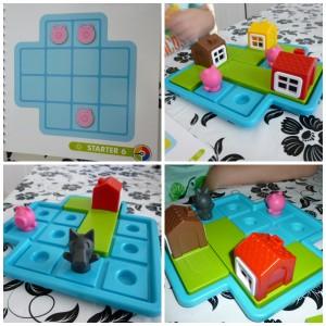 Drie kleine biggetjes smart games denkspel