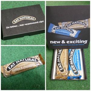 Eat Natural Coffee & chocolate mixed nut bar notenreep tussendoortje recensie