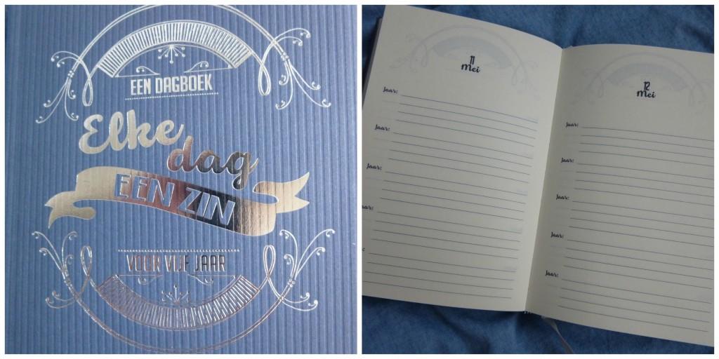 Elke dag een zin dagboek voor vijf jaar recensie BBNC