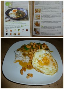 HelloFresh Original Box Rode curry met witlof choisam en spiegelei recept