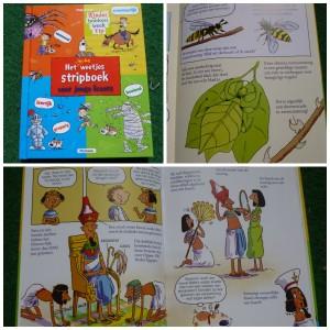 Het leuke weetjes stripboek 2 voor jonge lezers recensie kinderboekenweek 2015 raar maar waar