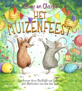 Het muizenfeest recensie prentenboek Machteld van Zalingen Kim den Dulk Aerial