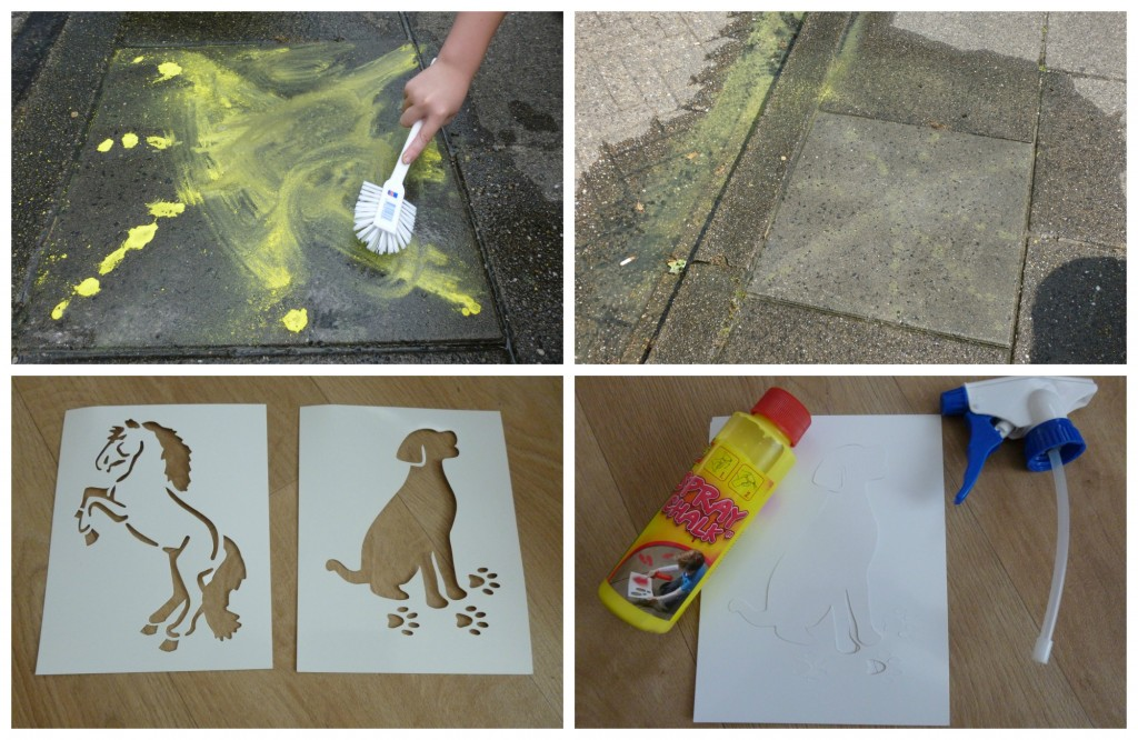 SES spray chalk recensie vloeibaar stoepkrijt spuitkrijt