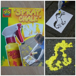 SEs spray chalk recensie spuitkrijt vloeibaar stoepkrijt recensie