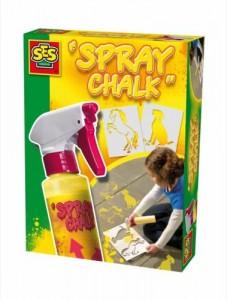 SES spray chalk recensie stoepkrijt spuitkrijt vloeibaar stoepkrijt